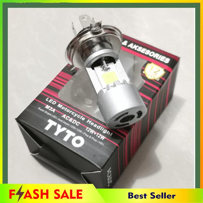 COD!! BARU!!LAMPU DEPAN LED HS1 TYTO ASLI VIXION CB150R NMP R15 SCOOPY FI DLL || Lampu Motor || LMtrDB1