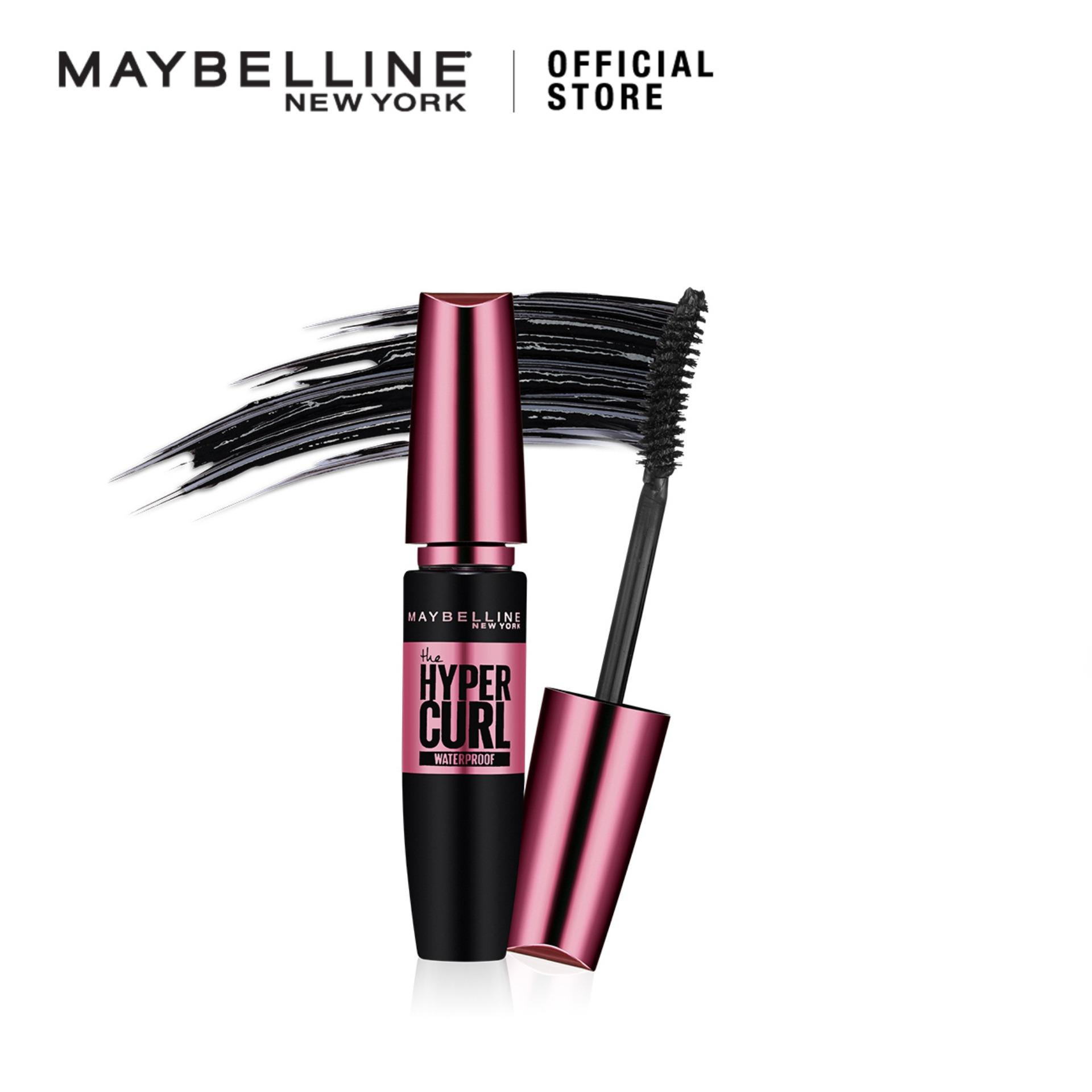 3d1b357171d Maybelline Volum Express Hypercurl Mascara MakeUp - Black [ Maskara Tahan  Air - Hitam ] | Lazada Indonesia