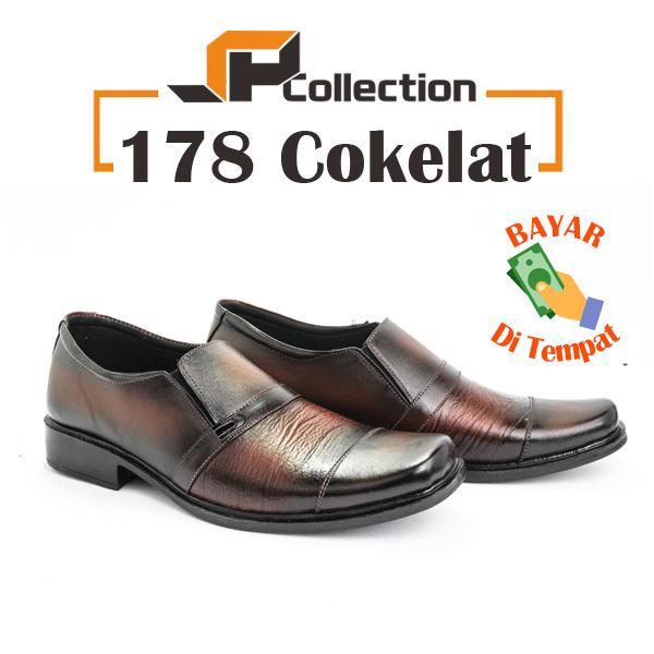 SPATOO Sepatu Pria Formal Kulit Asli 178 - Cokelat   Sepatu Pria Termurah   Sepatu  Pria 7c8e511df9