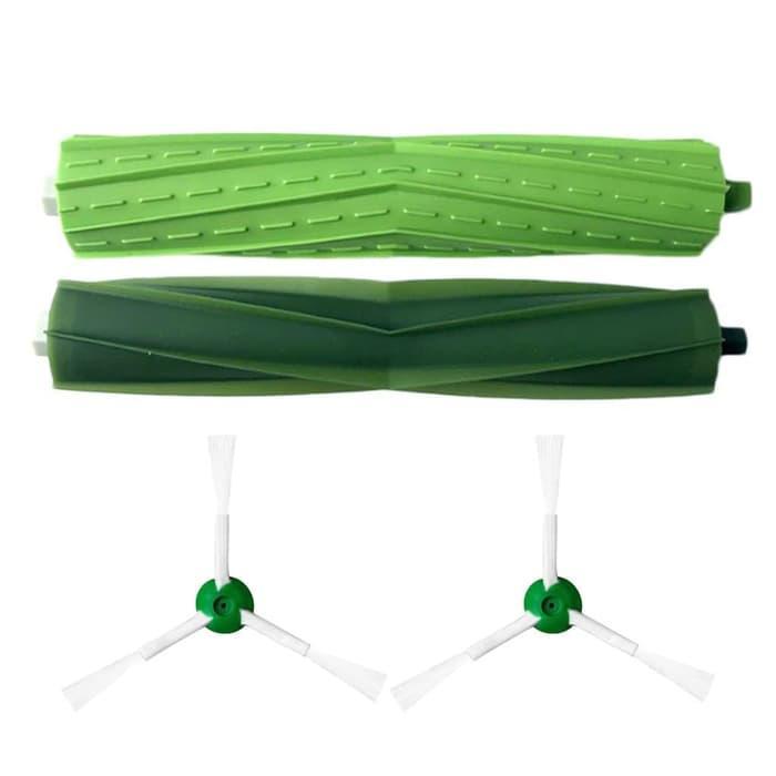 Turun harga Bristle Brushes Kits for iRobot Roomba i7 i7+ i7 Plus E5 E