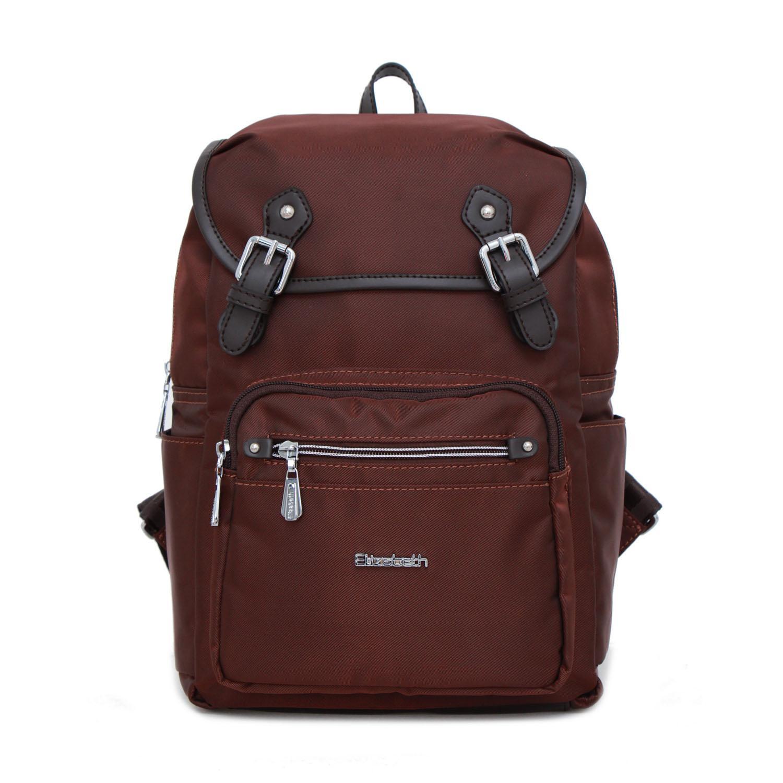 Tas Wanita Elizabeth Bag Sandy Backpack Brown f6defa1b77