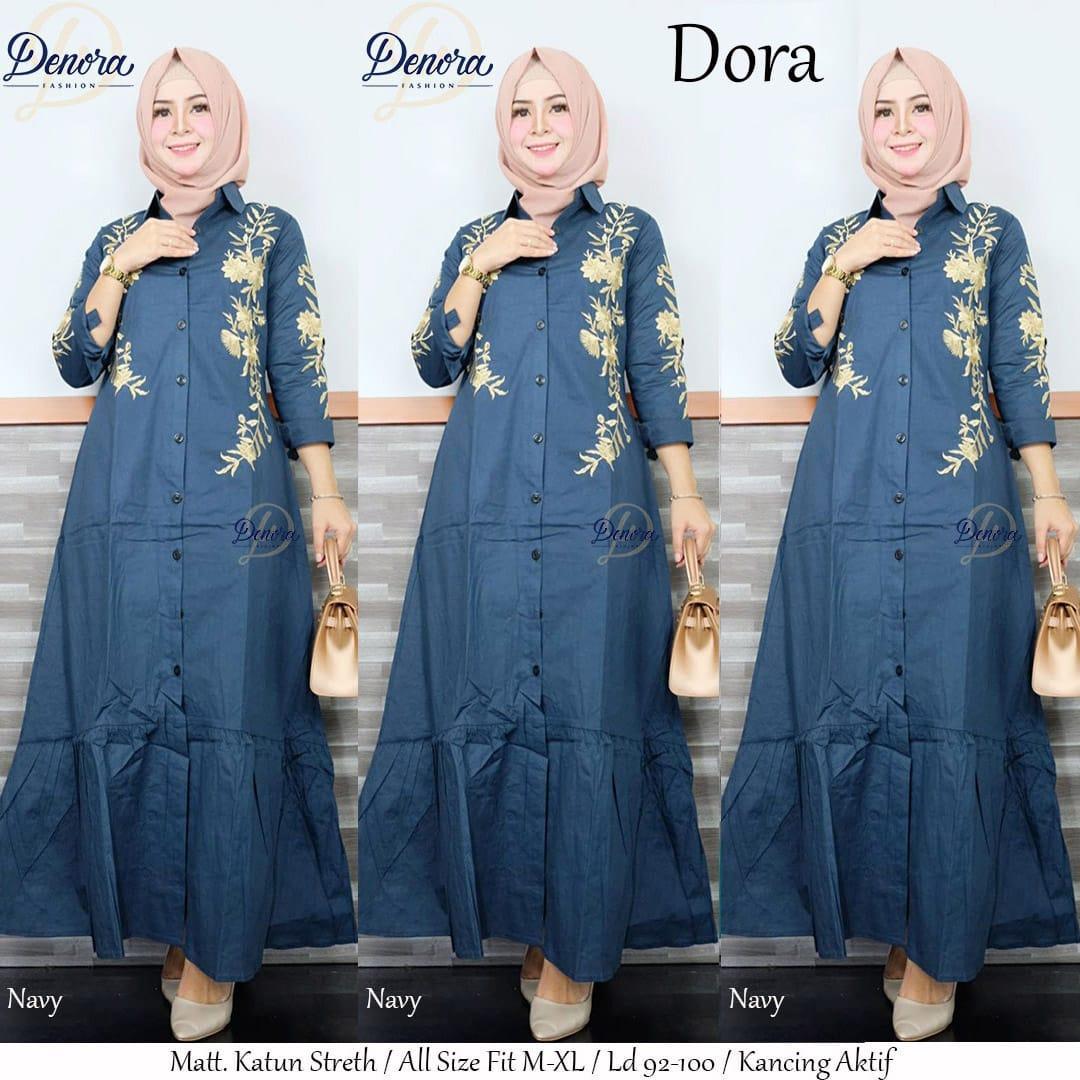 Dora Dress Koleksi Lebaran 2019 |Model Baju Lebaran 2019 | Baju Kondangan Hijab |Baju Buat Ke Undangan | Model Kebaya  Modern| Baju Kondangan Couple Kekinian| Baju Kebaya Modern| Gaun Pesta Muslimah Elegan| Baju Muslim Remaja| Long Dress Muslim Modern