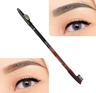 PENSIL ALIS REVLON 2in1 EYE BROW With VITAMIN A&E WATERPROOF PROVECTIVE thumbnail