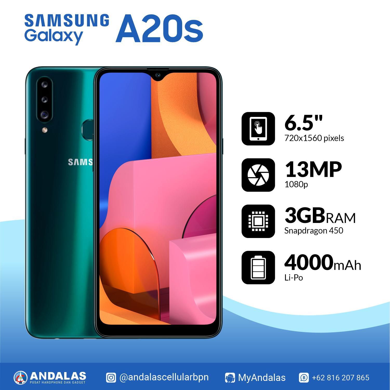 SAMSUNG GALAXY A20S SM-A207 3/32GB GARANSI RESMI SAMSUNG INDONESIA