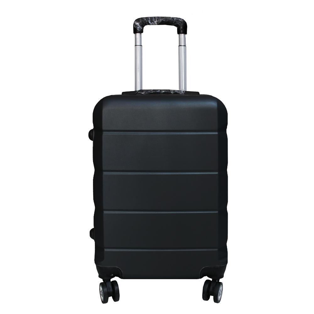 Koper Polo Expley Hardcase Luggage 20 Inchi 802-20 Black Waterproof