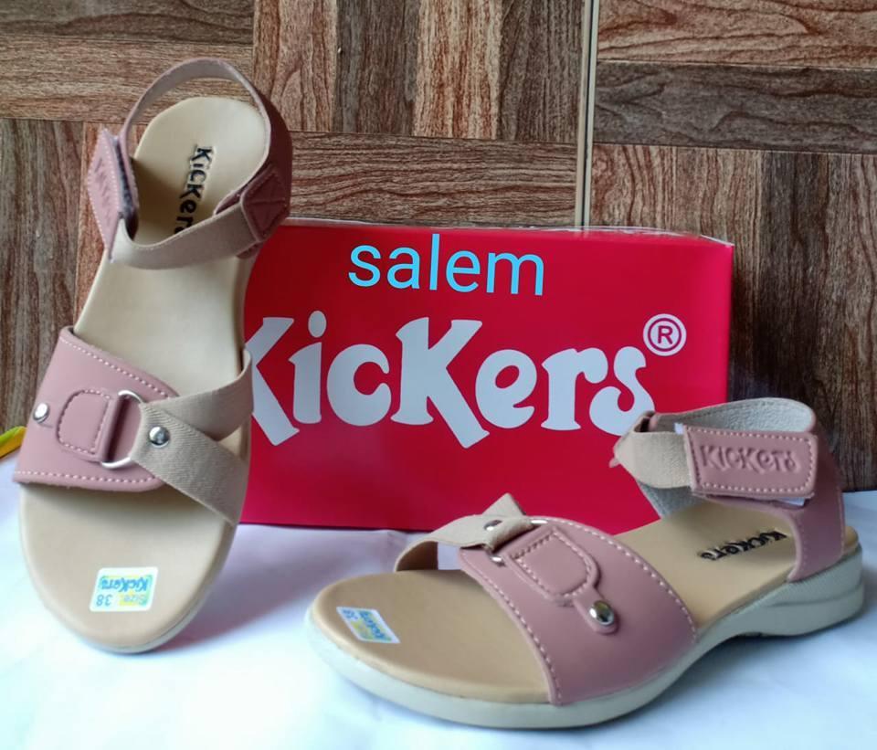 Sepatu Sandal Wedges Kickers Elegant Murah Untuk Pesta & Jalan-Jalan KL