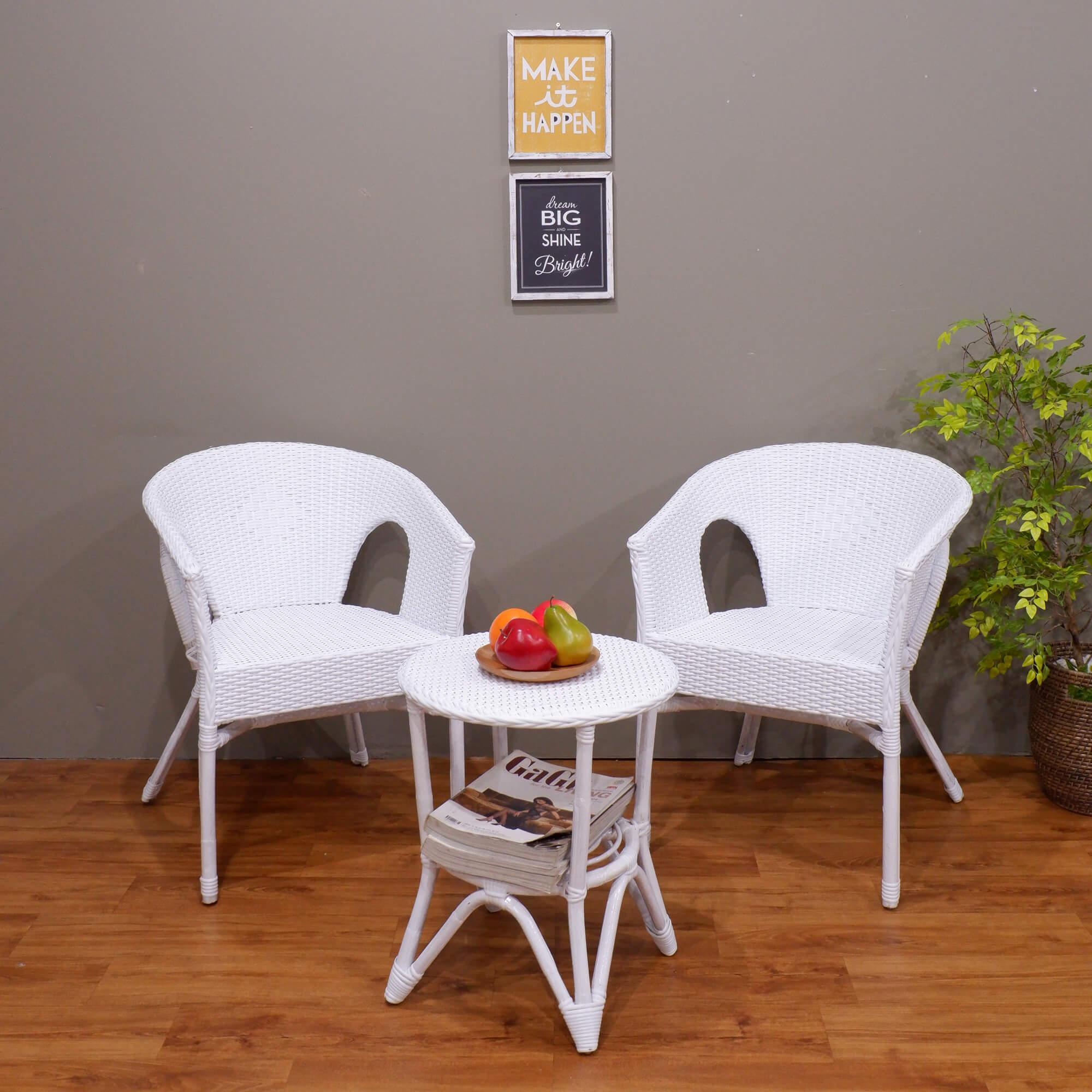 The Olive House - Set Kursi Rotan Fabio By Korea Furniture Store.