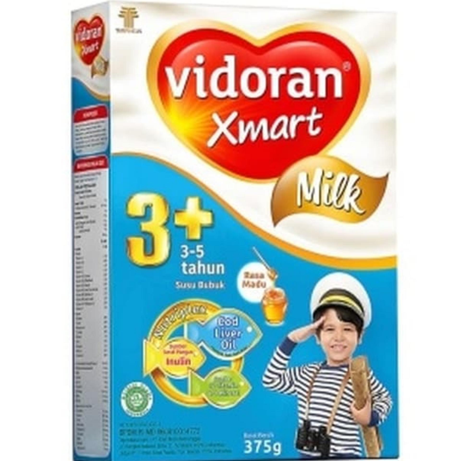 Vidoran Xmart 3+ Nutriplex Susu Formula  Madu 375gr