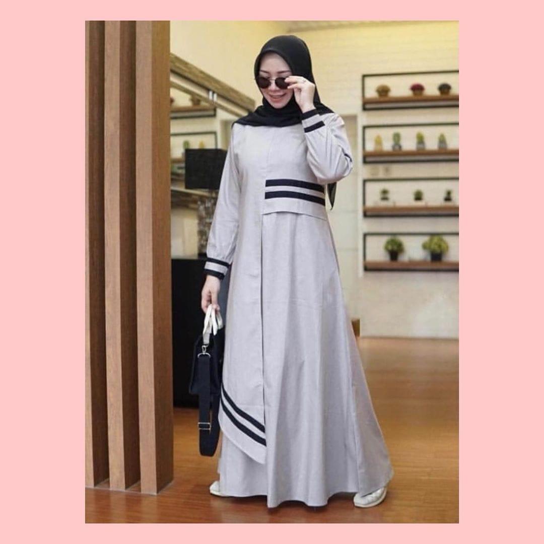 Serenada Long Dress Katun Toyobo Premium Baju Gamis Wanita Terbaru 2021 Gamis Remaja Modern Busana Muslim Wanita Terbaru Fashion Wanita Muslim Lazada Indonesia
