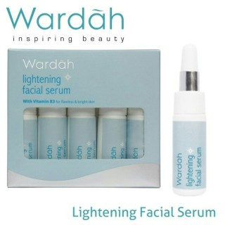 Wardah Lightening Facial Serum 1 pcs thumbnail