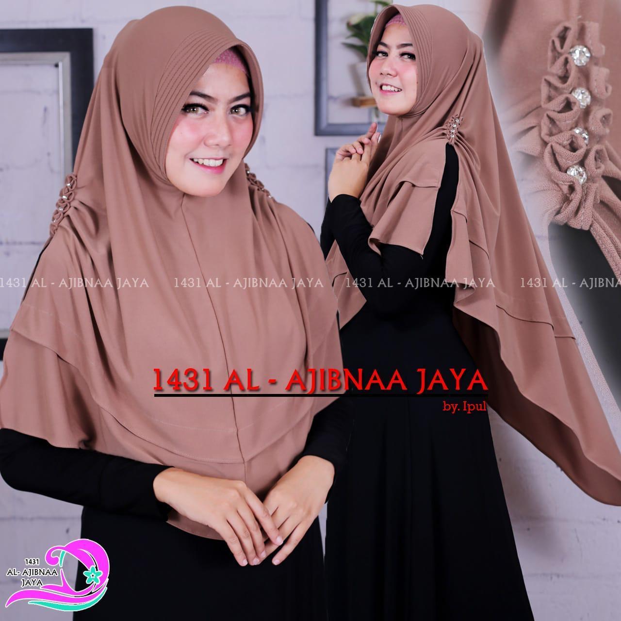 Hijab Wanita / Fashion Muslim Hijab Instan  / Jilbab Terbaru Bahan Jersy / Kerudung Terbaru / Atasan Muslimah - Andeska