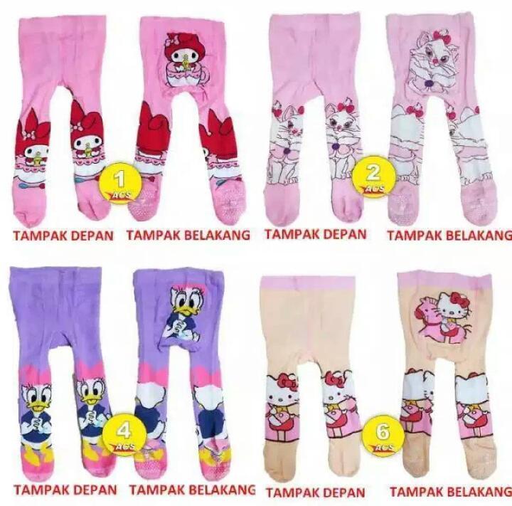 Legging Motif Cotton Rich Leging Celana Kaos Kaki Anak Legging Murah Untuk Bayi Lazada Indonesia