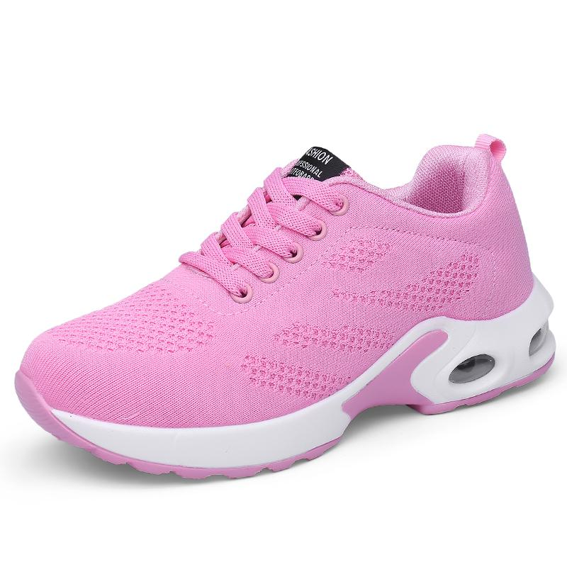 9087789b5 2019 Summer New Style Hollow out Fly Web Surface through Air Cushion  Athletic Shoes Casual Shoes