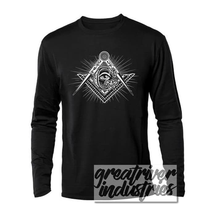 Kaos Illuminati Logo Long Sleeve