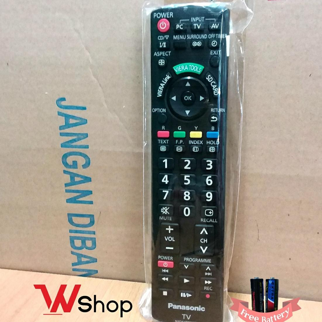 REMOT TV LCD LED PANASONIC VIERATOOL REC ORIGINAL