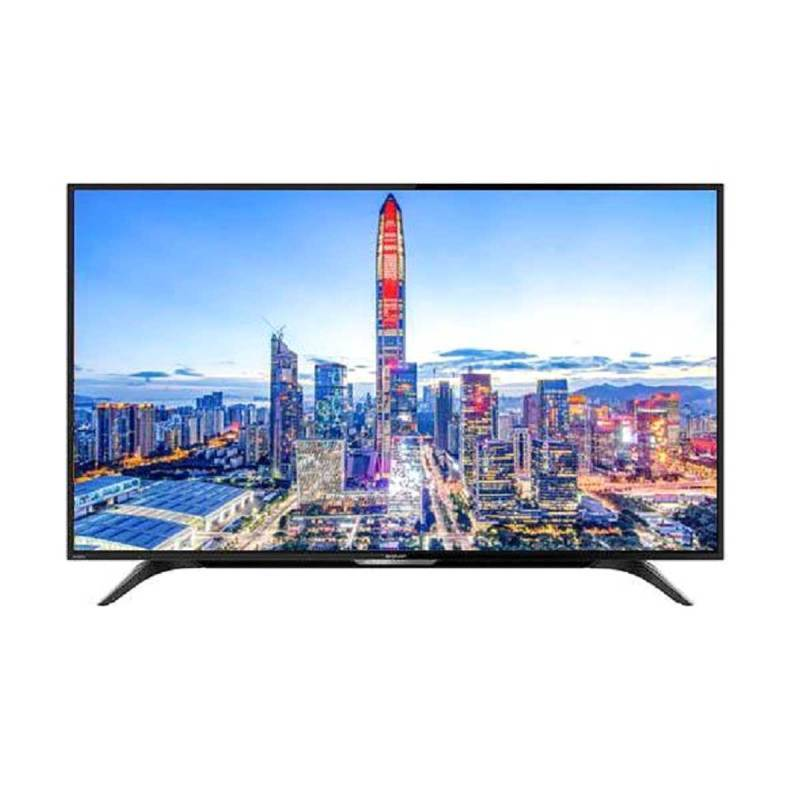 SHARP 4T-C50AL1 AQUOS 4K Ultra HDR Android Smart TV - Hitam [50 Inch]