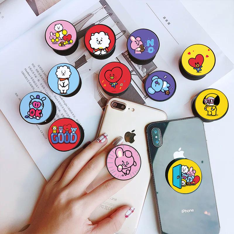 Popsocket Bt21 Cute Popsocket Termurahpopsocket Kkt Edition