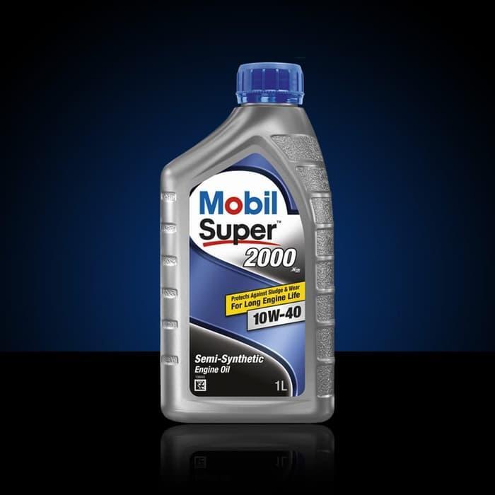 CUCI GUDANG Oli Mesin Mobil Super 2000 X2 10W 40 1 liter Murah