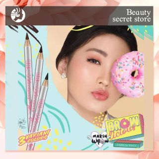 Beauty Secret MarshWillow Brownlicious Eyebrow Pencil Matic Eyebrow Pensil Alis by Natasha Wilona BPOM thumbnail