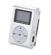 Obral 32 Gb Micro Sd Dukungan Mini Mp3 Player Klip Usb Fm Radio Layar Lcd Perak Intl Murah