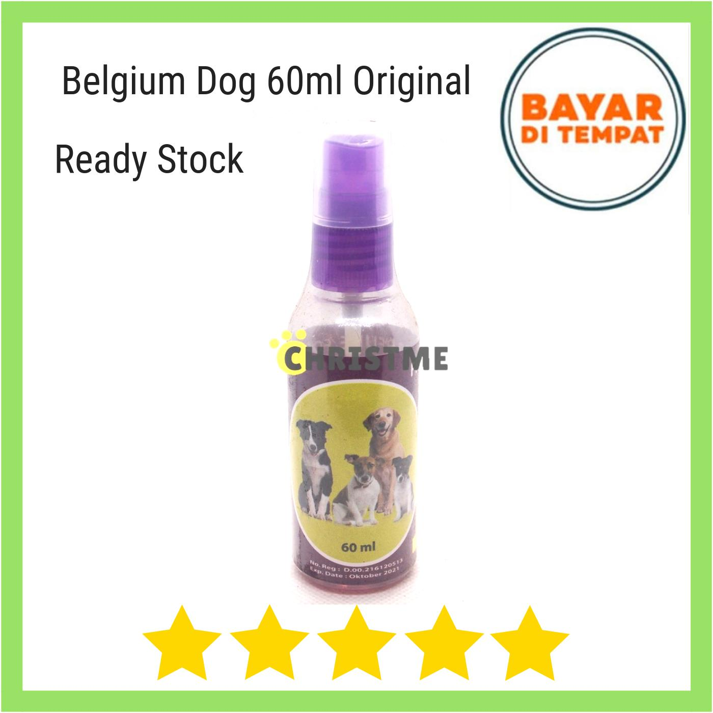 Parfum Anjing Belgium 60 Ml Exotic - Parfume For Dog Long Lasting Parfume By Christ Me.