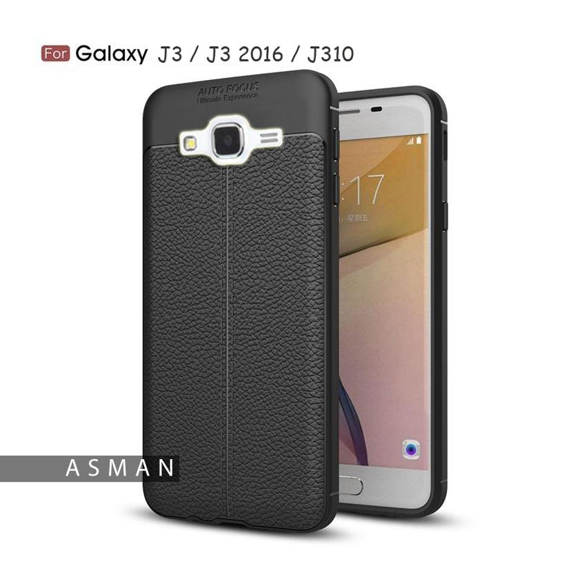 Softcase Leather / Case Auto Focus / Case Ultimate for Samsung Galaxy A8 2018 ( 5.6\IDR10780. Rp 10.780