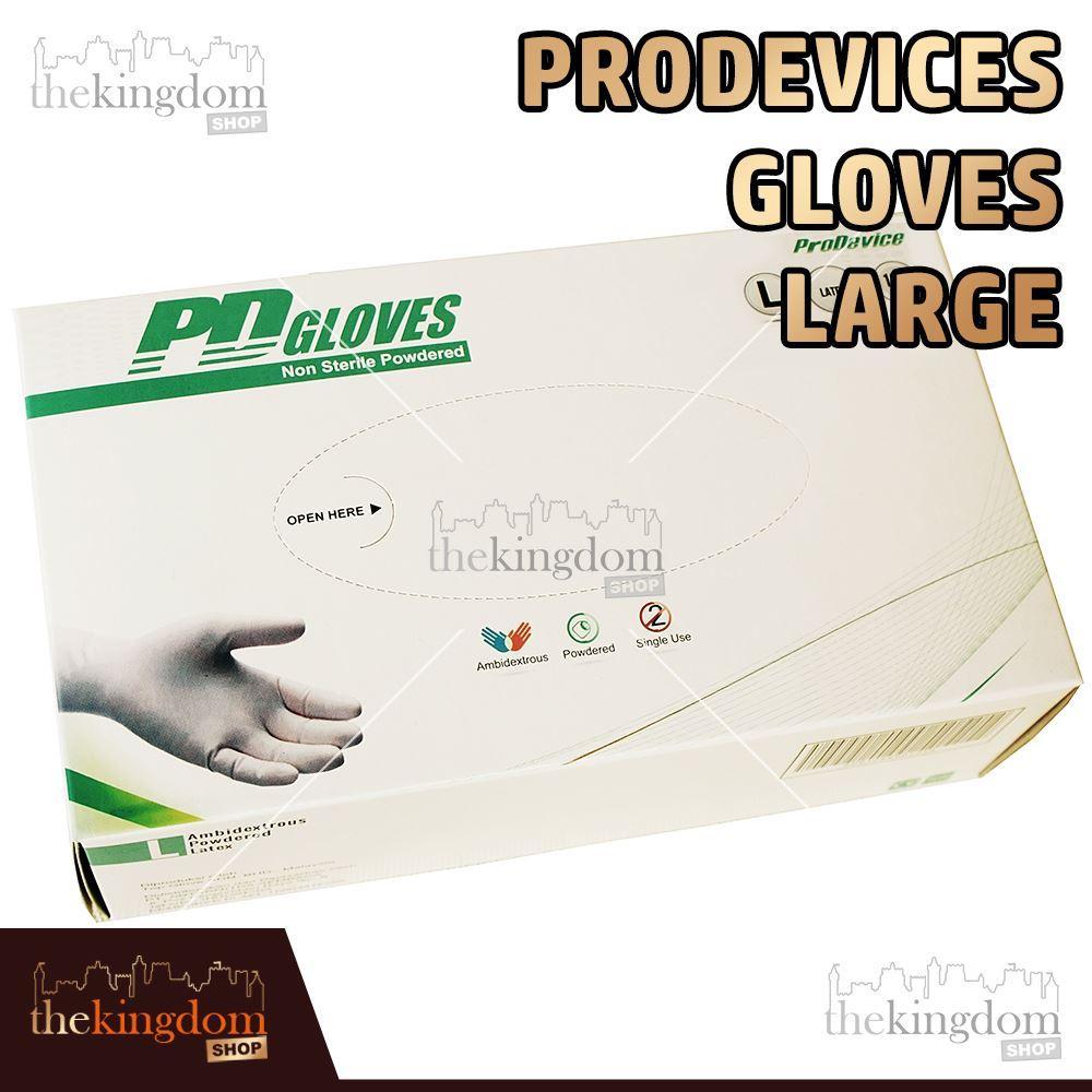 ProDevice PD Gloves Sarung Tangan Dokter Karet Latex Pro Device /100 Large