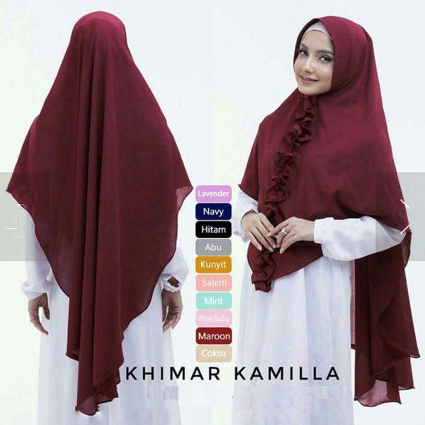 Hijab Terbaru 2019 Instan Syari Khimar KAMILLA
