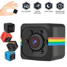 [[Hpfitting]] [[Cá Tuyết]] [[Miễn Phí Vận Chuyển] SQ11 Camera Mini HD Nhỏ Cảm Biến Tầm Nhìn Ban Đêm Máy Quay Micro máy Quay Video Ghi Hình DV Chuyển Động Đầu Ghi Camera