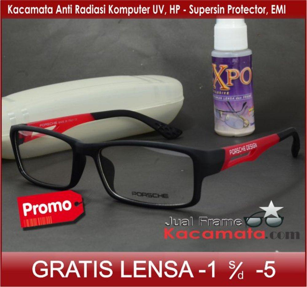 Frame Kacamata 837 + Lensa minus plus silinder Kacamata Baca Unisex - Kacamata  Pria fc2eeda083