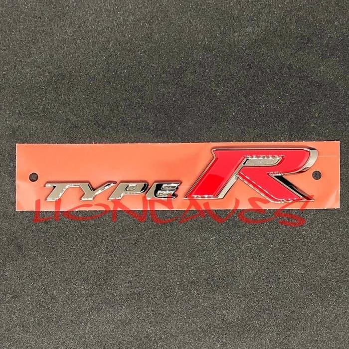 Original Rear Emblem Type R FK8 for Civic Turbo (Sedan / Hatchback)