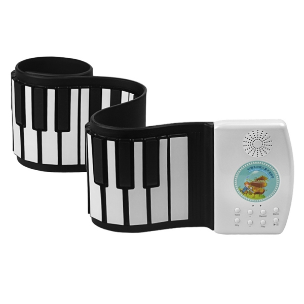 Hand Roll Piano 49-Key Flexible Roll-Up Educational Electronic Digital Music Piano Keyboard for Children Beginners Malaysia