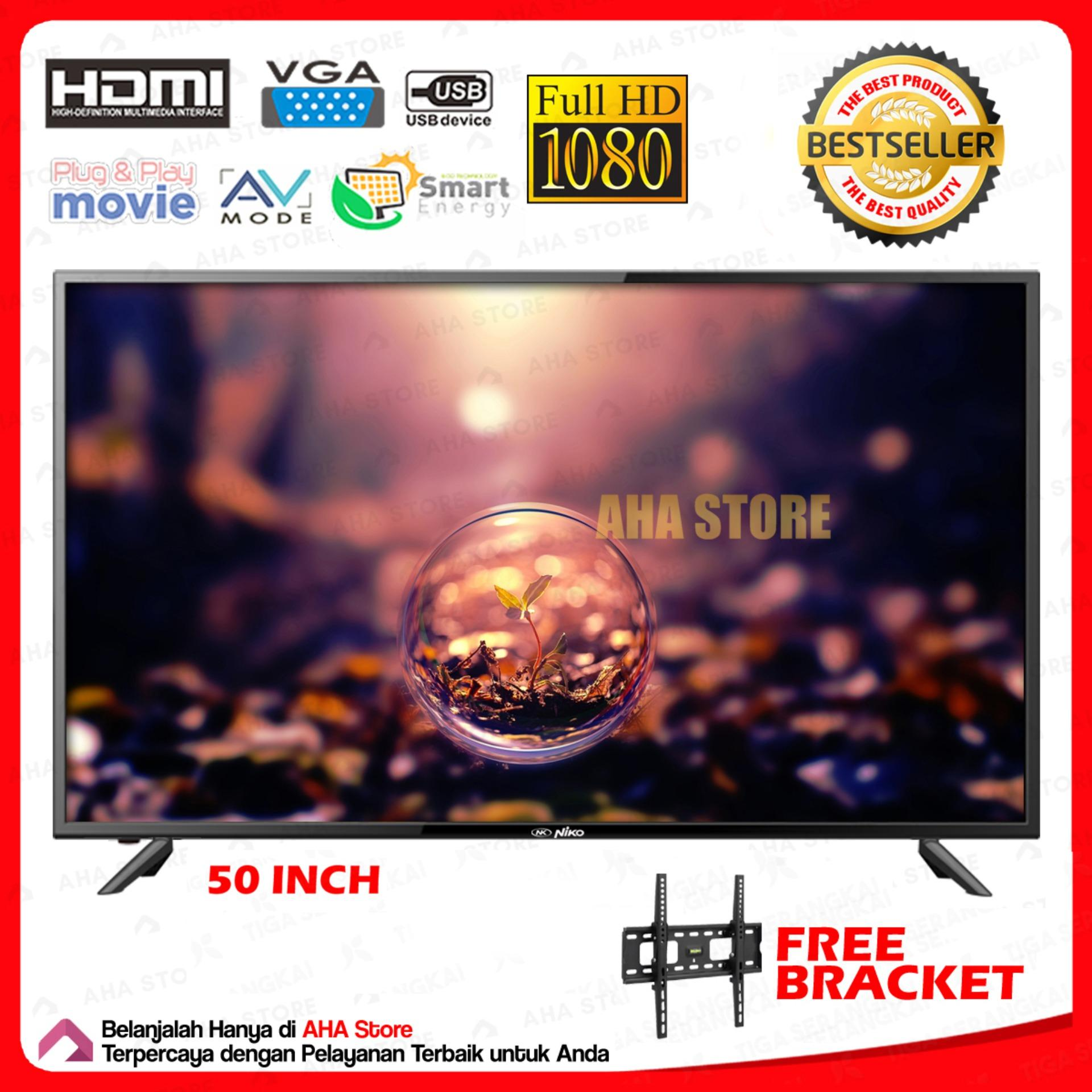 Niko LED TV 50 Inch Televisi Full HD K-50 Omega