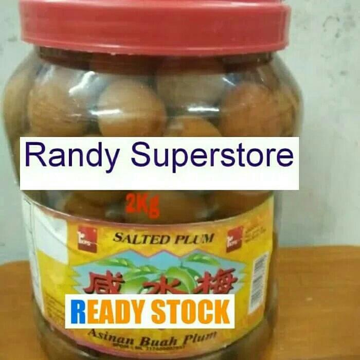 Salted Plum Buah Asinan By Randy Superstore Olshop.