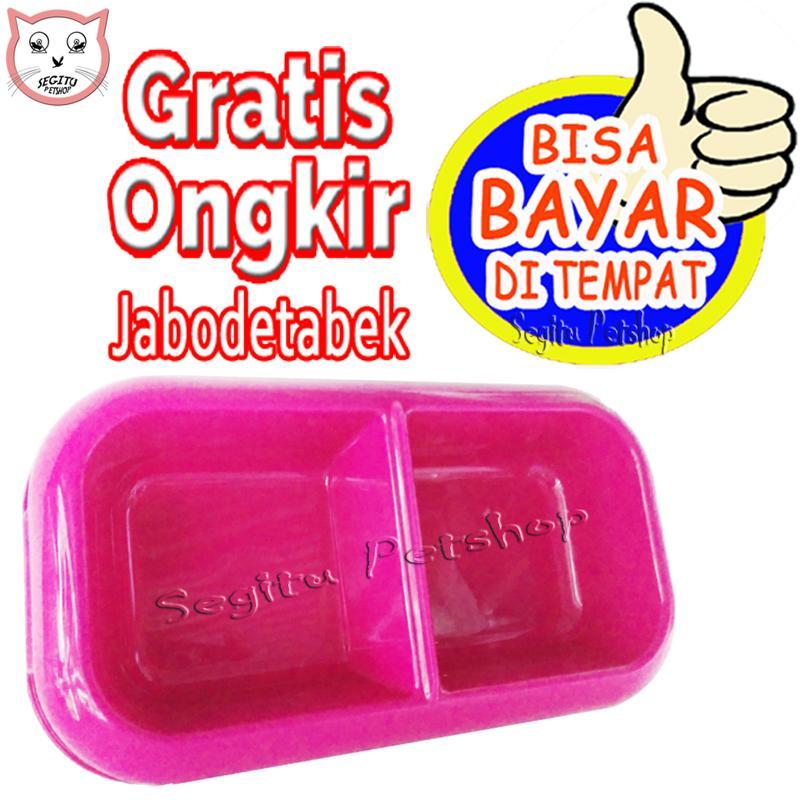 Tempat Makan Dan Minum Kucing Kelinci Musang Anjing Hewan Double By Segitu Petshop Tangerang.