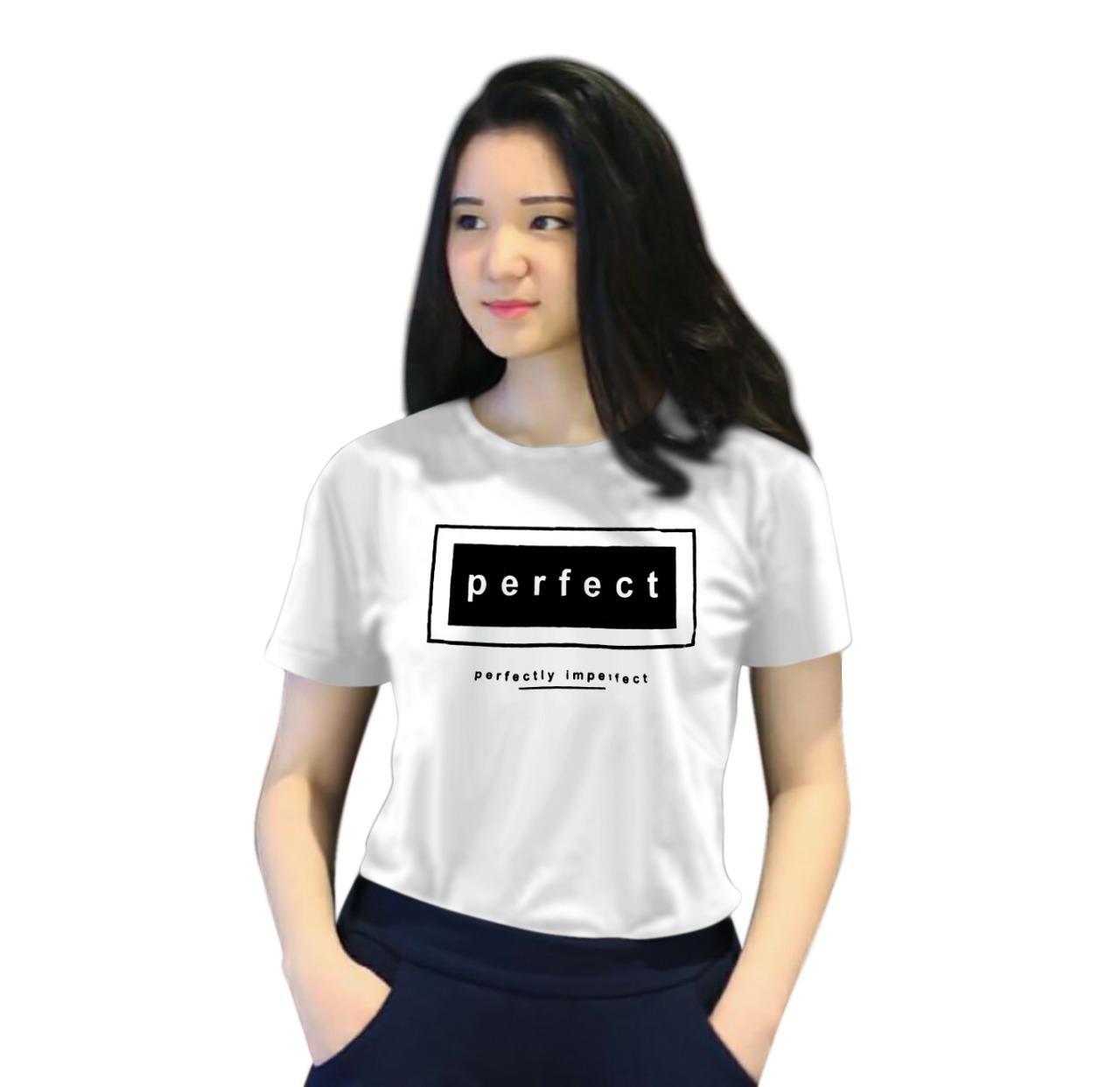 Maestro fashion kaos wanita PERFECT / T-Shirt Tumblr Tee / T-shirt Wanita