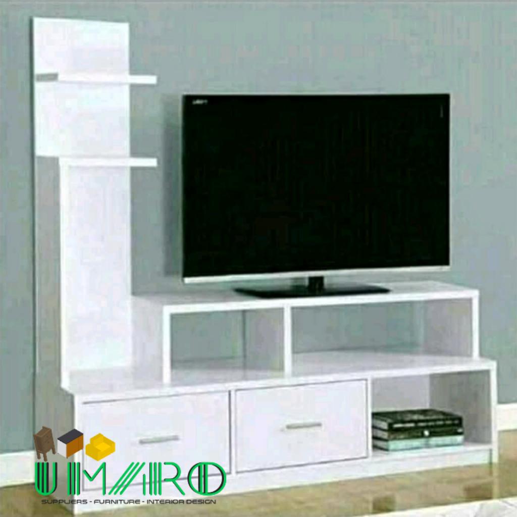 Rak Tv Minimalis Putih Model L Modern Lazada Indonesia