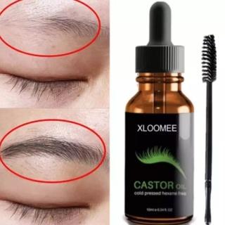 XLOOMEE Castor Oil AMPUH Penumbuh Bulu Alis Bulu Mata JENGGOT KUMIS Dan Bulu Lainnya thumbnail