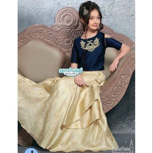 Nikmati Setelan Baju India Anak Senshukei 31J Bagus