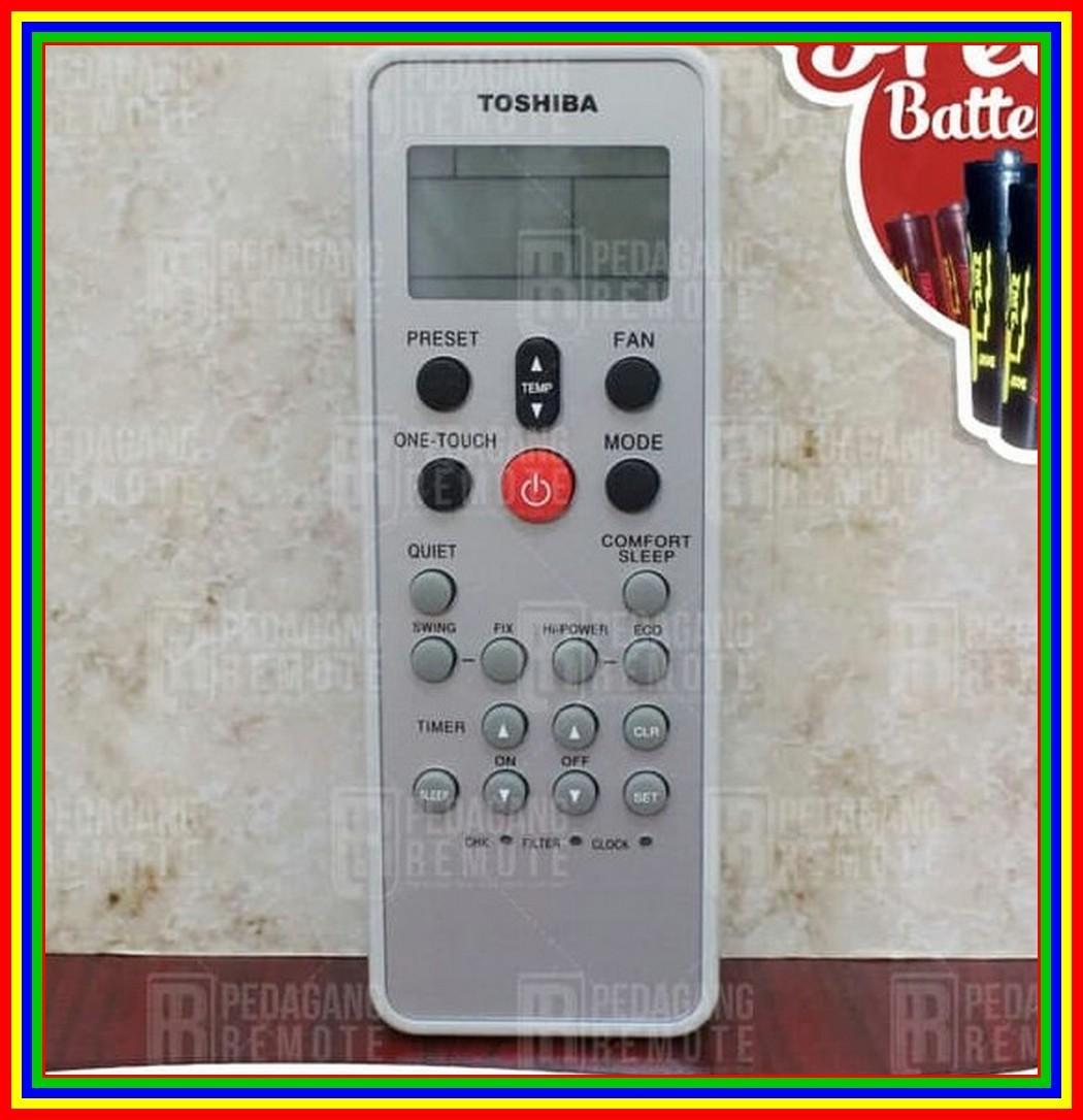 Remot Remote AC Toshiba Wc-L03Se QLT Super Original Pabrik