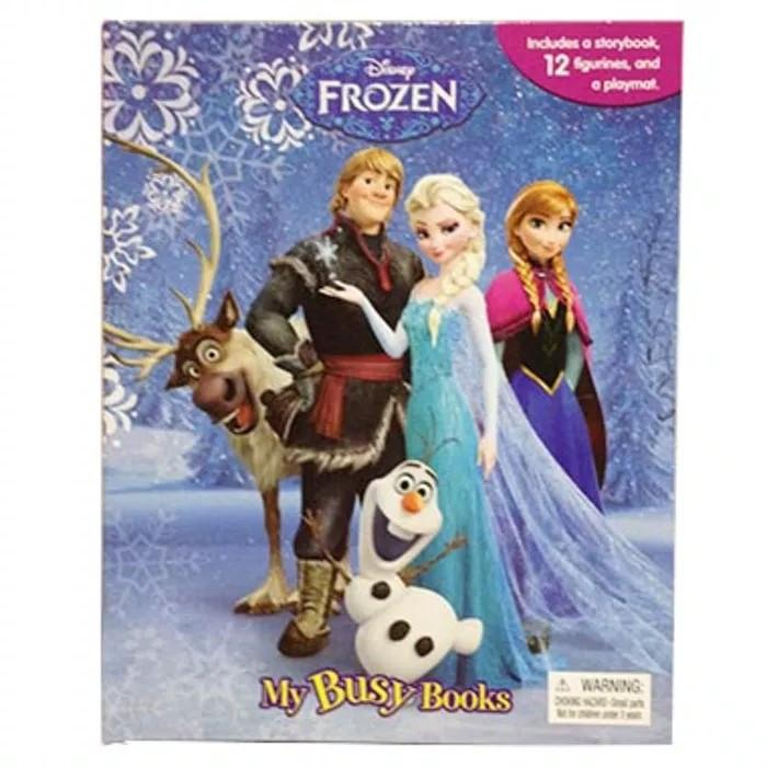 Buku Anak Import My Busy Book Frozen By Juragan Junior.
