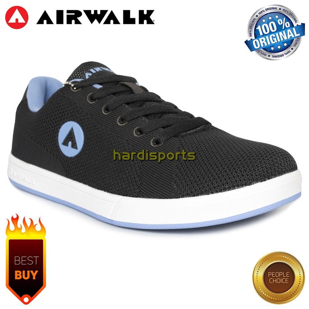 Sepatu Sneaker Wanita Airwalk Kent (F) AIW18UK0403G - Grey b0c7ae6777