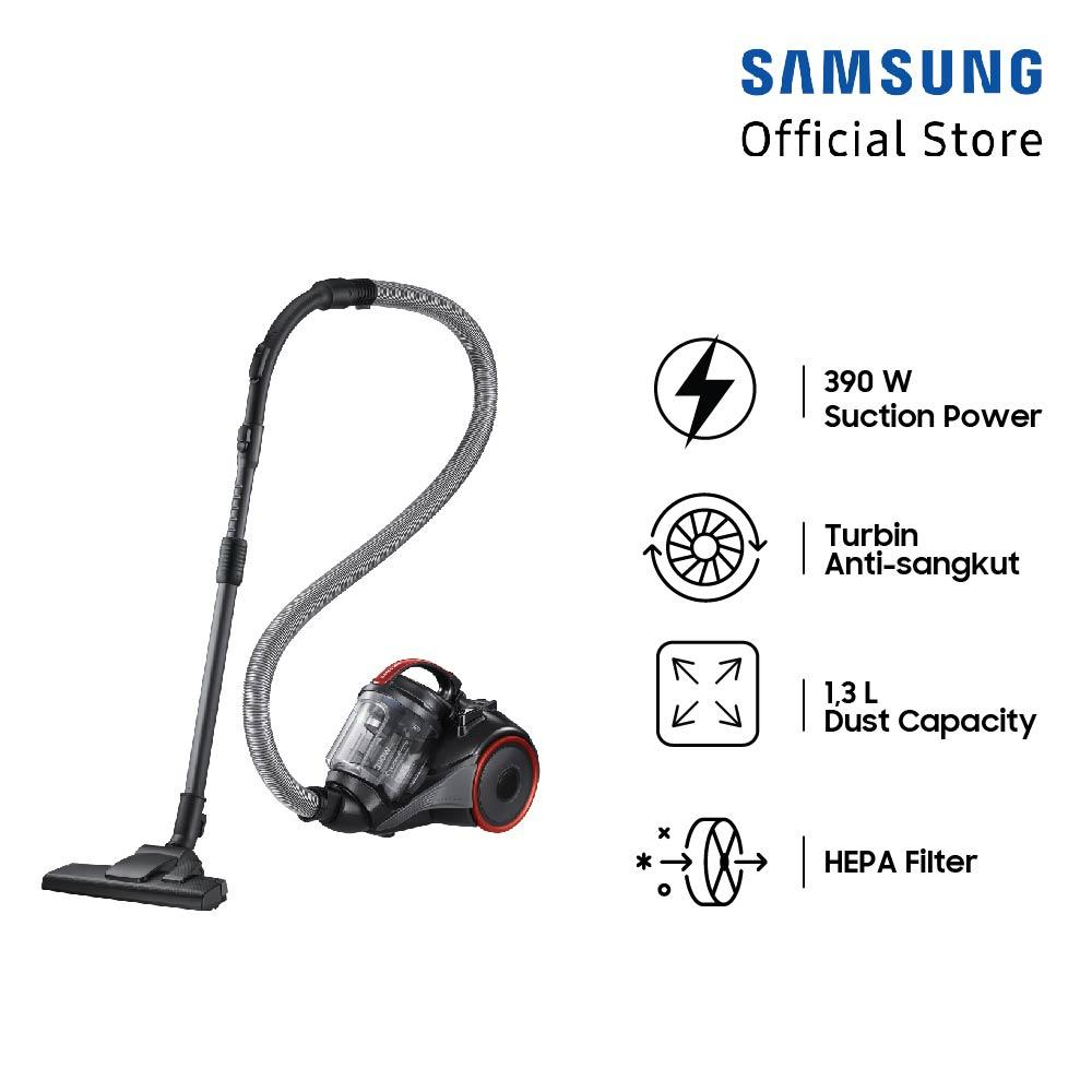 Samsung Canister Vacuum, 1500W - VC15K4110VR
