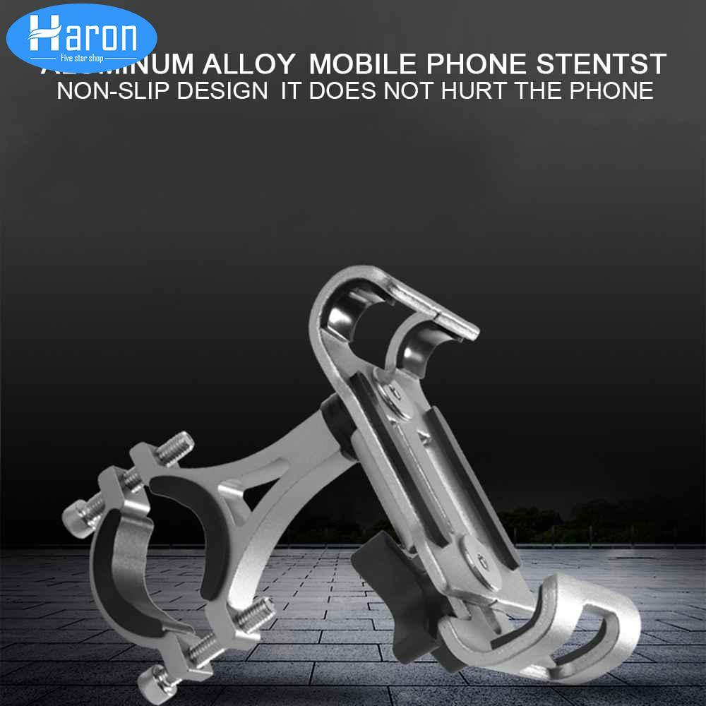 【cod Available】haron Bicycle Handlebar Aluminum Alloy Mobile Phone Bracket Phone Bracket Phone Holder By Haron.