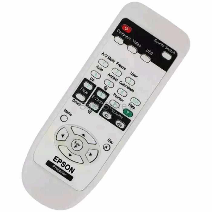 TERBATAS Remot Proyektor EPSON Remote Projector EPSON Remote LCD Proy