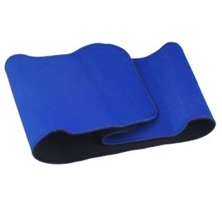 Blue Adjustable Waist Support Elastic Pain Back Brace thumbnail