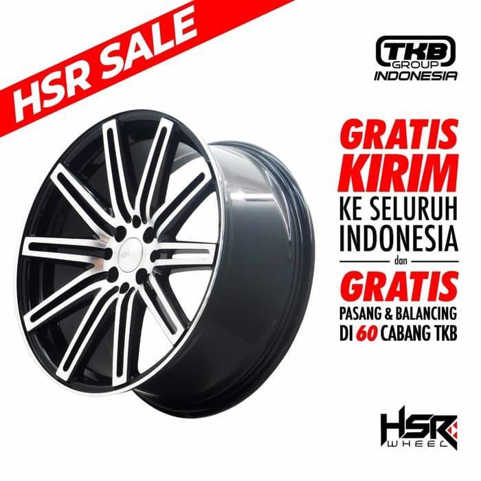 Promo      VELG HSR NE4 JD440 HSR R18x8 H8x100-114,3 ET45 BMF      Termurah