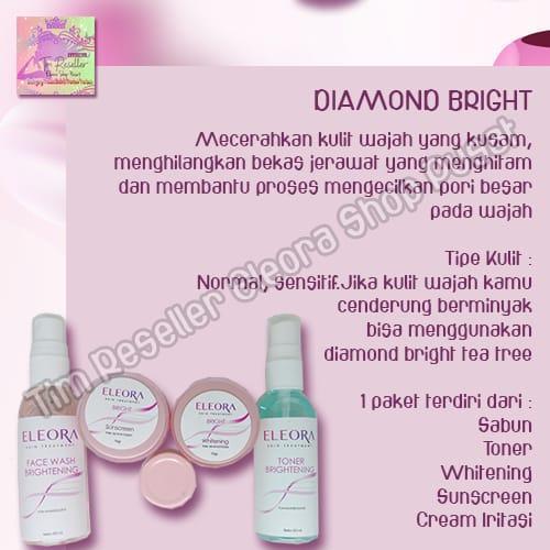 SaSaSlim Eleora Diamond Bright - Untuk kulit Normal, pori-pori besar dan kulit kombinasi | Lazada Indonesia