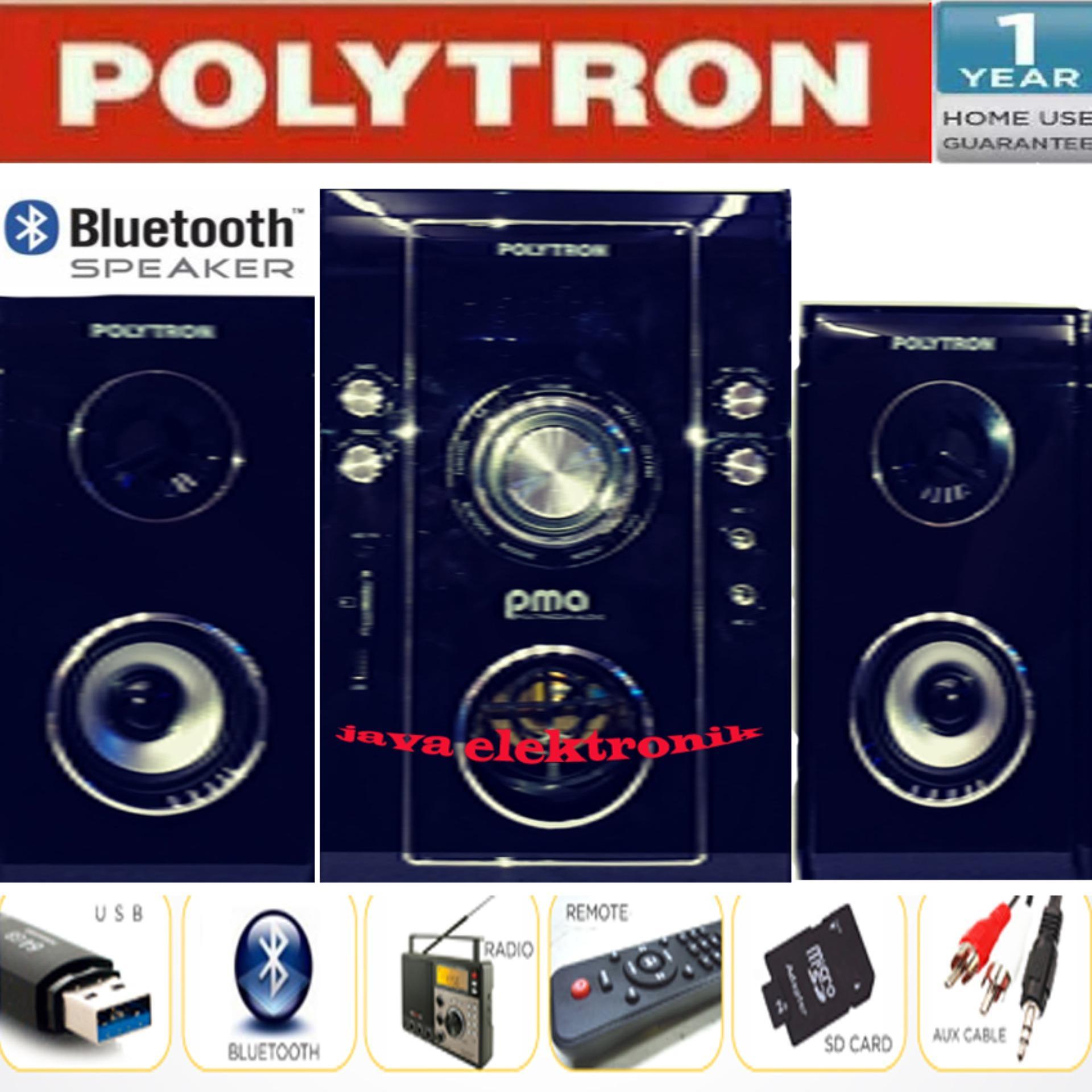 Polytron Promo Sepeker Warlles Suara Bass Pma9503 Coklat Garansi Resmi By Java Elektronik.