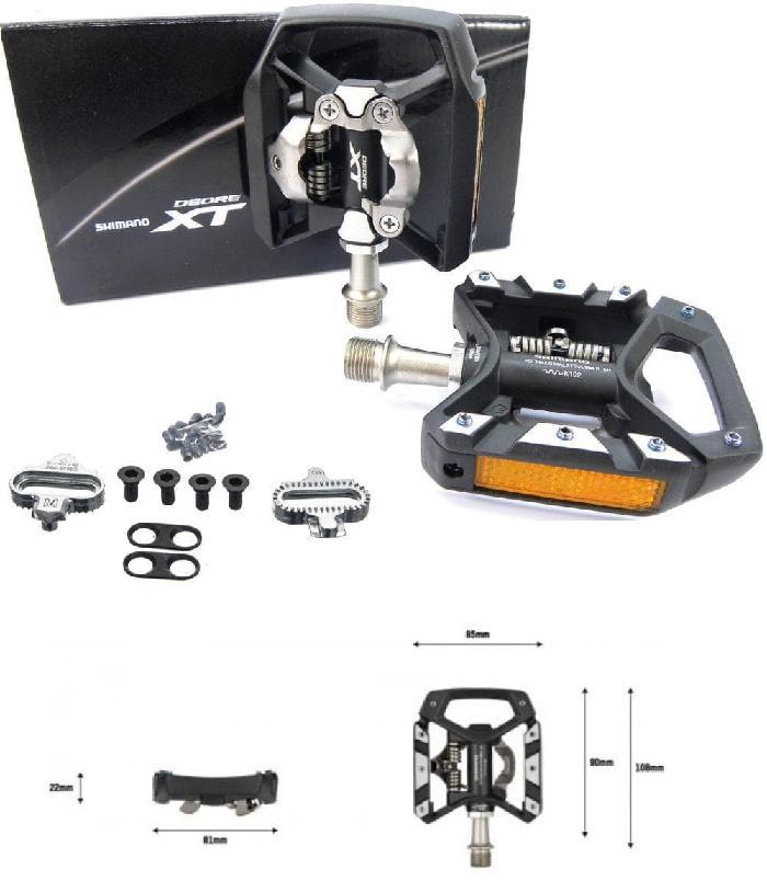 Shimano Deore Xt T8000 Spd Trekking Clipless Pedal